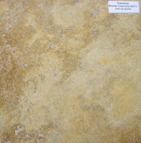 516-12 XCFH bronze travertine