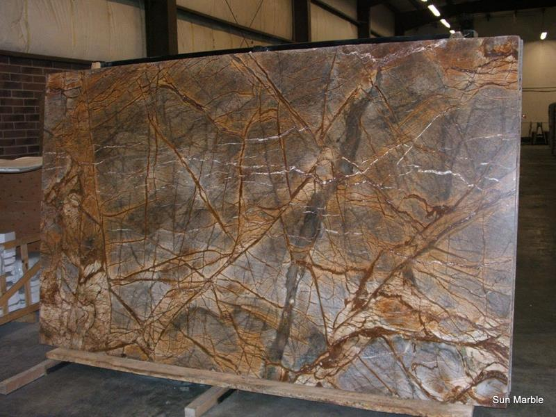 Rainforest Brown Granite : Rain forest brown marble archives sun